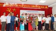 Đón mừng học sinh Nghệ An đạt Huy chương Bạc Olympic Tin học châu Á - Thái Bình Dương