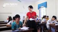 Học sinh Nghệ An bước vào môn thi cuối cùng kỳ thi tuyển sinh lớp 10
