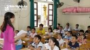 Học sinh Nghệ An tựu trường trước ngày khai giảng gần 3 tuần