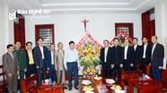 Phó Chủ tịch UBND tỉnh chúc mừng Lễ Giáng sinh tại Đại chủng viện và giáo hạt Xã Đoài