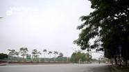 Thành phố Vinh vắng lặng trong ngày đầu thực hiện cách ly toàn xã hội