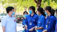 Phó Chủ tịch UBND tỉnh yêu cầu các điểm thi tốt nghiệp THPT làm tốt nhiệm vụ '2 trong 1'
