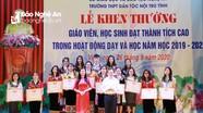 Trường THPT Dân tộc Nội trú tỉnh tuyên dương học sinh giỏi, thành lập Quỹ 'Thắp sáng ước mơ'