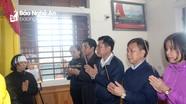 Sở Giáo dục và Đào tạo thăm hỏi gia đình các liệt sỹ hy sinh ở Rào Trăng 3