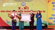 Trường THCS Nghi Ân đón nhận danh hiệu trường đạt chuẩn Quốc gia mức độ 1