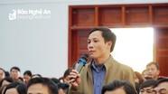 Giám đốc Sở Giáo dục và Đào tạo đối thoại với giáo viên, người lao động