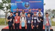 Trường THPT chuyên Đại học Vinh đạt giải tại cuộc thi Khoa học kỹ thuật cấp Quốc gia