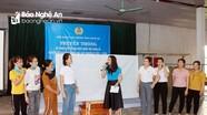 Liên đoàn Lao động tỉnh truyền thông về công tác bầu cử cho công nhân lao động