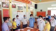 Phó Chủ tịch UBND tỉnh Bùi Đình Long kiểm tra công tác bầu cử tại Cửa Lò, Nghi Lộc và Diễn Châu