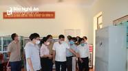 Phó Chủ tịch UBND tỉnh kiểm tra công tác thi lớp 10 tại Diễn Châu và thành phố Vinh