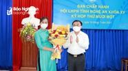 Hội Liên hiệp Phụ nữ tỉnh Nghệ An có tân Phó Chủ tịch