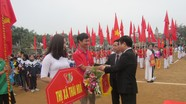 Hơn 600 VĐV tham gia Hội khỏe Phù Đổng Nghệ An cụm 2