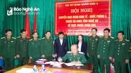 Bàn giao Đoàn Kinh tế - Quốc phòng 4 về Bộ Tư lệnh Quân khu 4