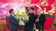 Lãnh đạo tỉnh Xiêng Khoảng (Lào) thăm, làm việc tại Bộ chỉ huy BĐBP Nghệ An