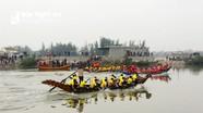 Rượt đuổi kịch tính trong giải đua thuyền ven biển Nghệ An