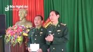 Nghệ An: Bàn giao chức trách, nhiệm vụ cán bộ chủ trì các đơn vị biên phòng