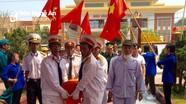 Quỳnh Lưu: Lễ đón nhận, truy điệu và an táng hài cốt liệt sỹ