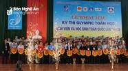 13 thí sinh Đại học Vinh tranh tài tại Kỳ thi Olympic Toán học SV và HS toàn quốc 2018