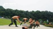 Khen thưởng các chiến sĩ biên phòng xuất sắc trong huấn luyện võ thuật