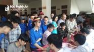 Hơn 800 người dân Thanh Chương tham gia hiến máu tình nguyện