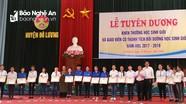 Đô Lương có 127 học sinh giỏi Quốc gia, giỏi tỉnh