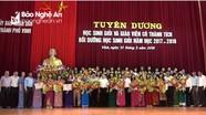Thành phố Vinh tuyên dương 291 học sinh, giáo viên giỏi năm học 2017 - 2018