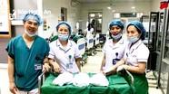 Nghệ An: Sản phụ sinh tự nhiên cùng lúc 2 bé gái,1 bé trai