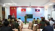 Công an Nghệ An tập huấn công tác phòng chống ma túy cho một số tỉnh nước bạn Lào
