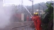 Diễn tập phòng cháy chữa cháy tại Chi nhánh điện cao thế Nghệ An