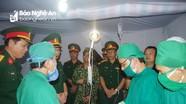 Cục Quân y kiểm tra khu sơ tán tập trung bí mật Sư đoàn 324