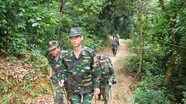 Bộ Chỉ huy Biên phòng Nghệ An hành quân bộ kiểm tra chốt tiền tiêu biên giới