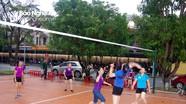Hội Phụ nữ Bộ CHQS tỉnh Nghệ An giao lưu thể thao với phụ nữ vùng giáo