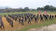 Cảnh sát cơ động cụm 4 hoàn thành huấn luyện kỹ, chiến thuật nghiệp vụ