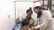 Trẻ con, người già ở Nghệ An nhập viện ngày giá rét