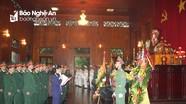 Quân khu 4 dâng hương tưởng niệm Chủ tịch Hồ Chí Minh và các Anh hùng liệt sỹ