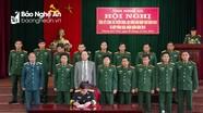 Nghệ An tổ chức Hội nghị hiệp đồng giao nhận quân năm 2019