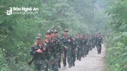 Con Cuông triển khai nhiệm vụ diễn tập khu vực phòng thủ năm 2019