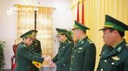 BĐBP Nghệ An trao quyết định bổ nhiệm, điều động 19 cán bộ