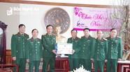Bộ Tư lệnh Quân khu 4 chúc Tết Bộ CHQS và Bộ đội Biên phòng Nghệ An