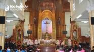 Các giáo xứ trên địa bàn tỉnh tổ chức Tuần Chầu đền tạ