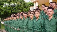 Bộ đội Biên phòng Nghệ An khai giảng khóa huấn luyện chiến sỹ mới năm 2019