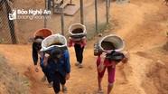 Nghệ An: Dân bản góp công, góp của làm đường bê tông