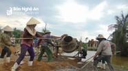 Giáo dân Quỳnh Lưu chung sức xây dựng nông thôn mới