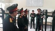 Đoàn công tác Bộ Tổng tham mưu thăm và kiểm tra tại Sư đoàn 324