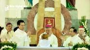 Giáo phận Vinh tổ chức Đại lễ Truyền Dầu