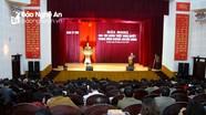 Thành ủy Vinh quán triệt Nghị quyết Trung ương 6 (khóa XII)