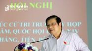 Bí thư Trung ương Đảng Phan Đình Trạc: Cần lựa chọn người tài trong công tác cán bộ