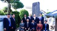 Kỷ niệm 100 năm Chí sĩ Phan Bội Châu đặt bia đá tạ ân Bác sĩ Asaba sakitaro tại Nhật Bản