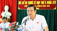 Bí thư Trung ương Đảng Phan Đình Trạc tiếp xúc cử tri huyện Quỳ Hợp