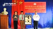 Trưởng ban Tuyên giáo Tỉnh ủy dự Ngày hội Đại đoàn kết tại Hưng Nguyên